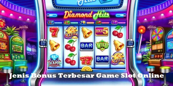Jenis Bonus Terbesar Game Slot Online